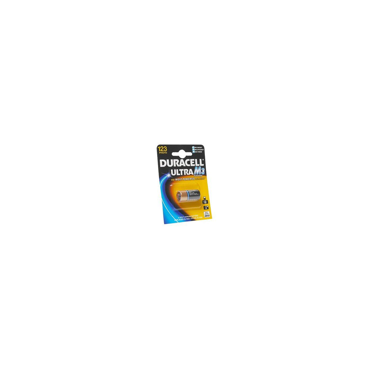 Pile non rechargeable duracell 123 * 1 (photo)