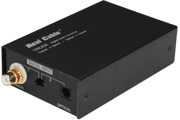Boîtier real cable cnug2 convert.opt.num (photo)