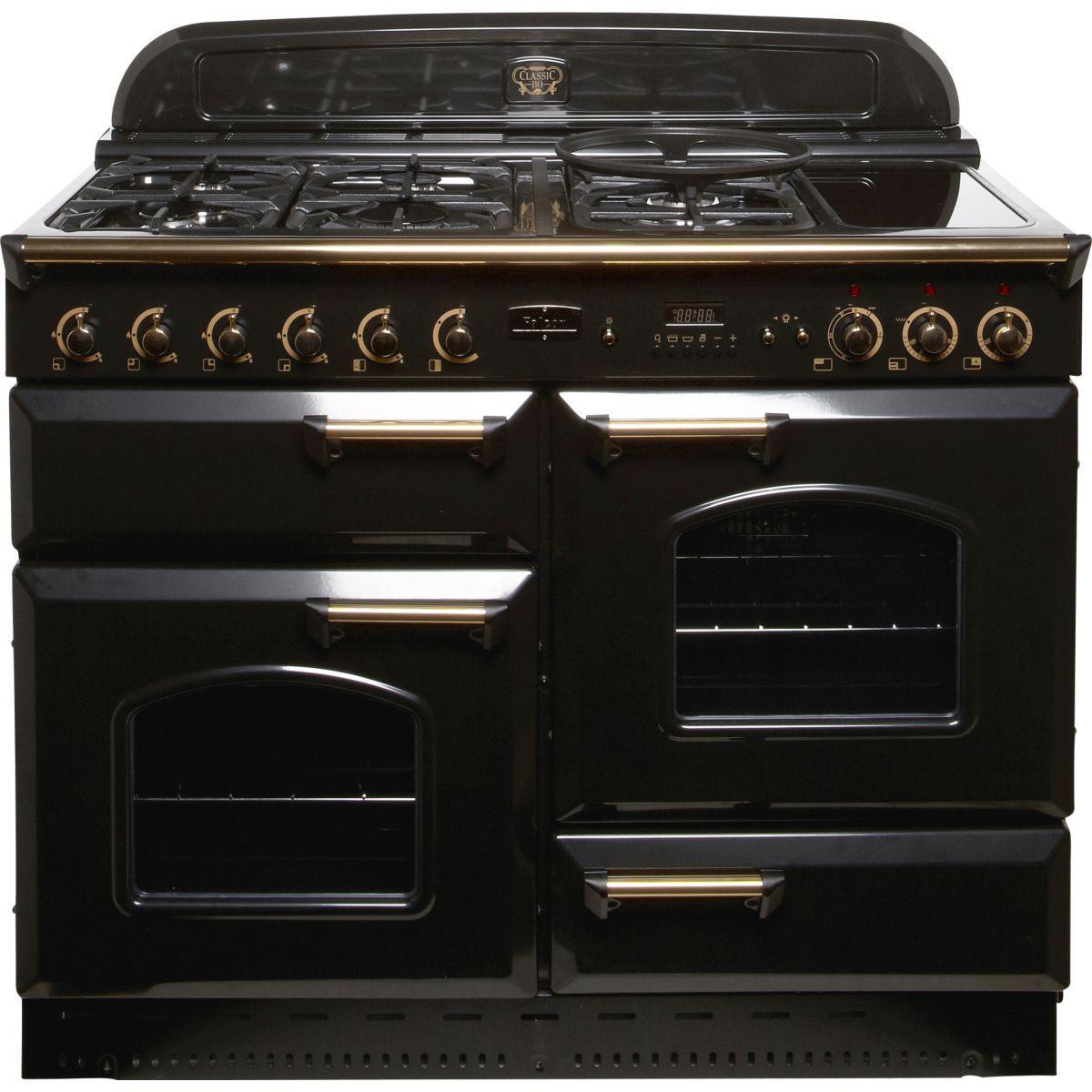 Piano de cuisson falcon classic 110 mixte noir laiton - 20% de remise : code gam20 (photo)