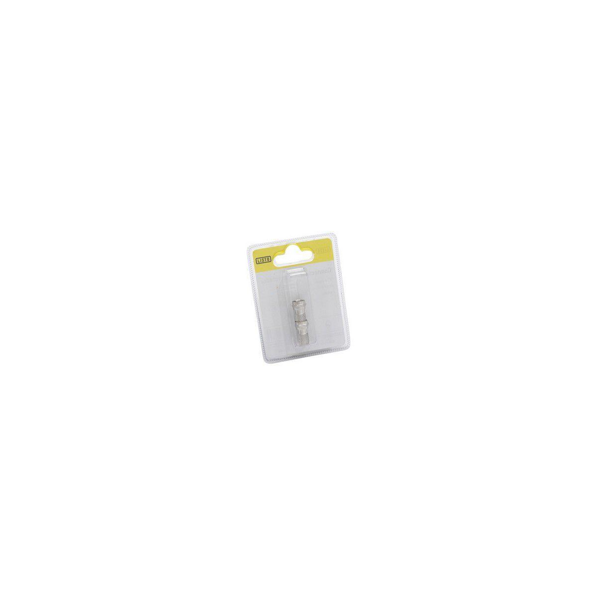 Connecteur sc f avec joint- 2mâles (photo)
