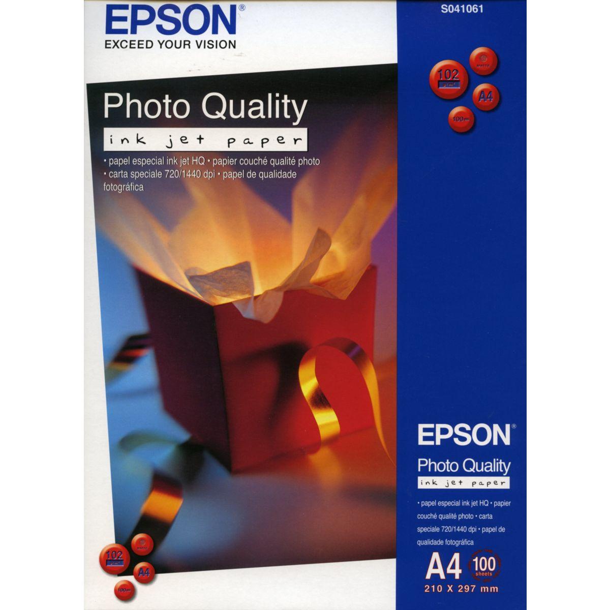 Papier photo epson a4 100g 100 feuilles - produit coup de coeur webdistrib.com ! (photo)
