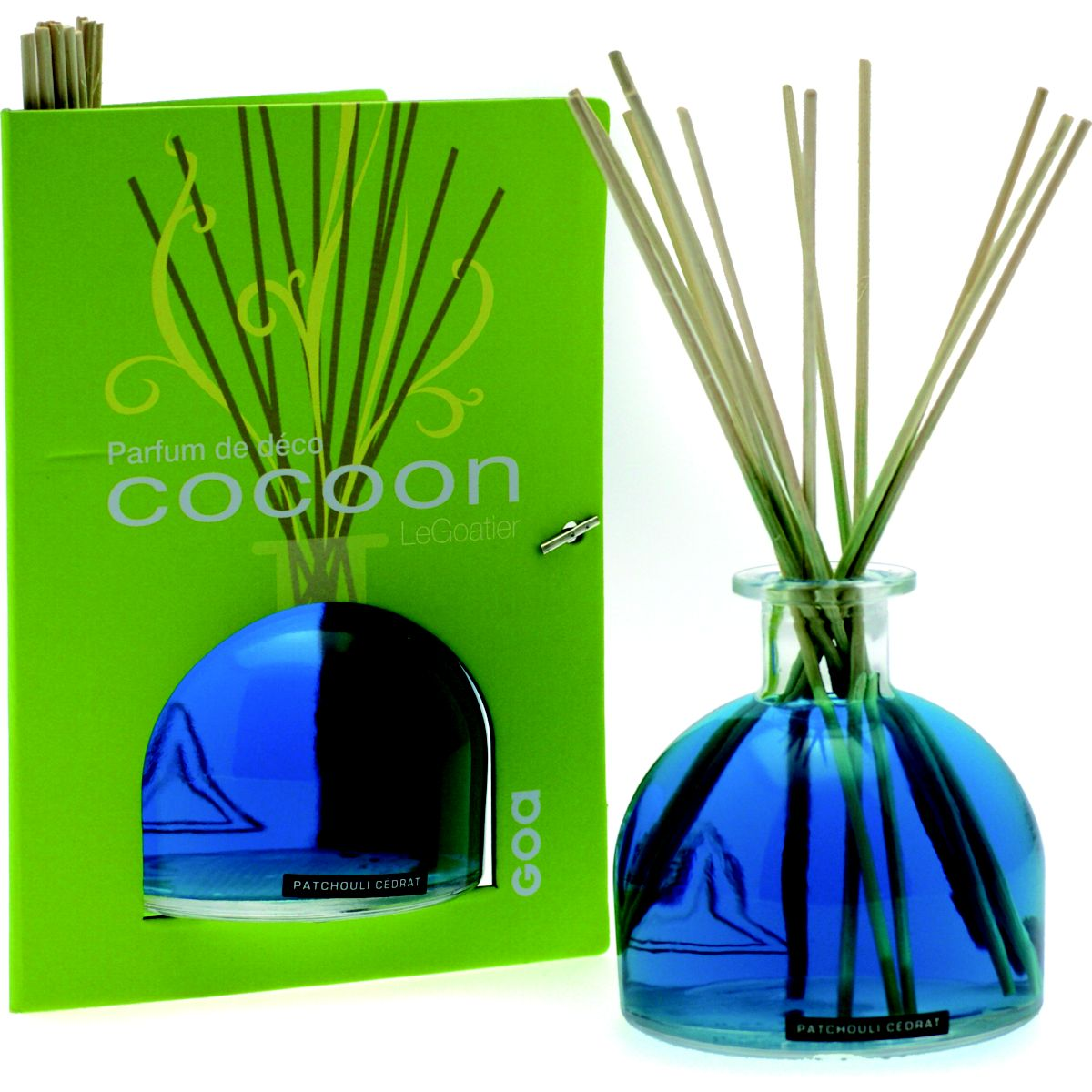 Goa goatier cocoon patchouli cédrat 250 ml (photo)