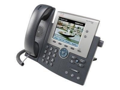Téléphone ip cisco unified ip phone 7945g anthracite - 2% de remise immédiate avec le code : wd2 (photo)