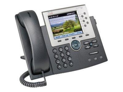 Téléphone ip cisco unified ip phone 7965g anthracite - 2% de remise immédiate avec le code : wd2 (photo)