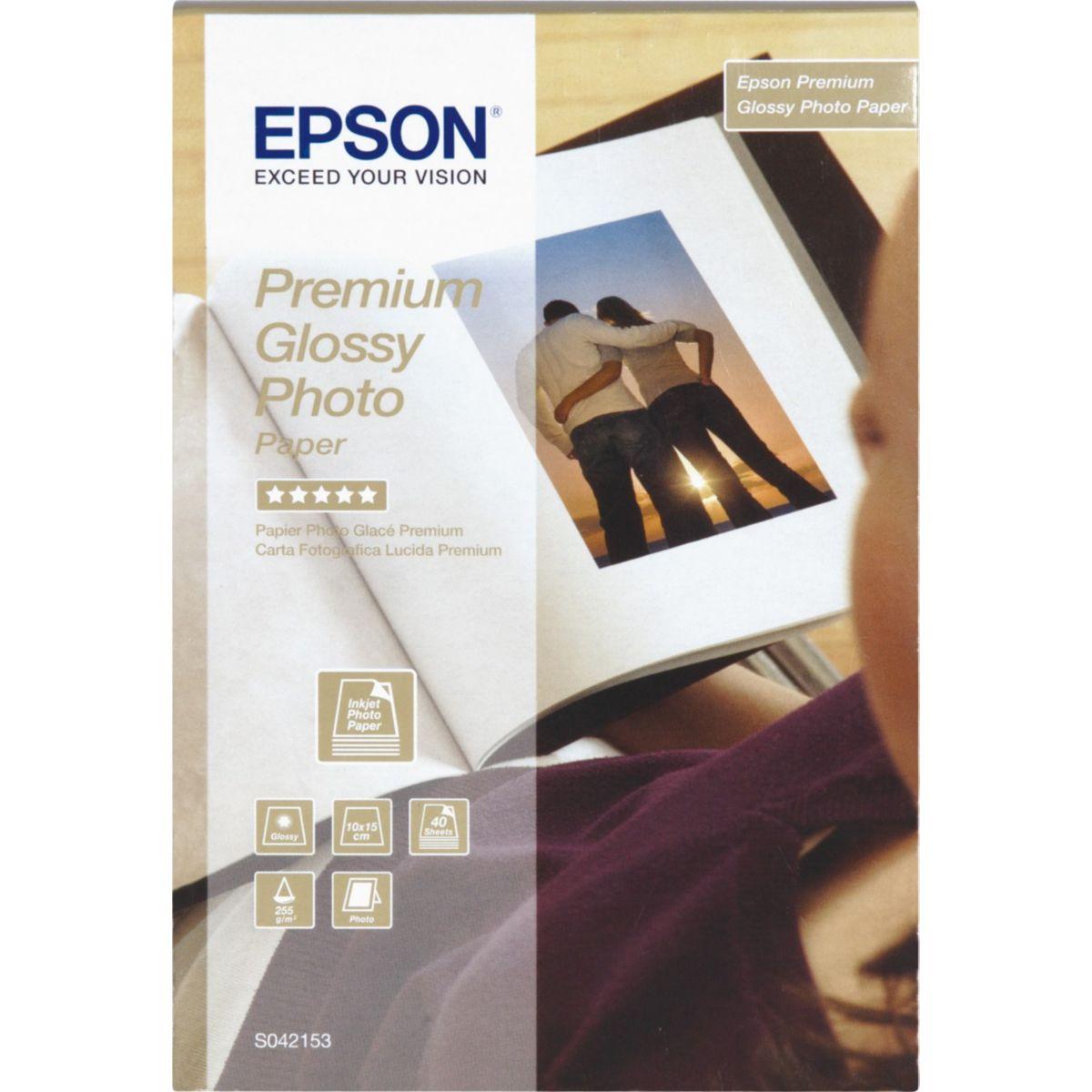 Papier epson 10x15-40f-255g/m� (photo)