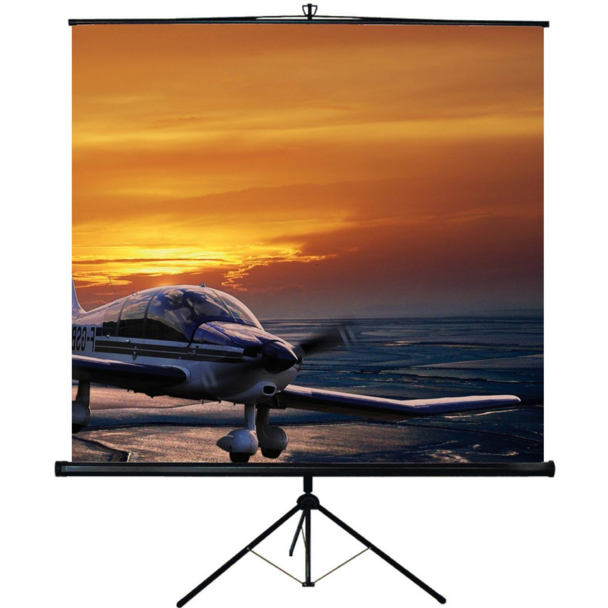 Ecran de projection oray screen trepied 150*150 manuel - 20% de remise imm�diate avec le code : deal20 (photo)