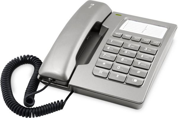 Téléphone filaire doro 912c argent - 5% de remise immédiate avec le code : cool5 (photo)
