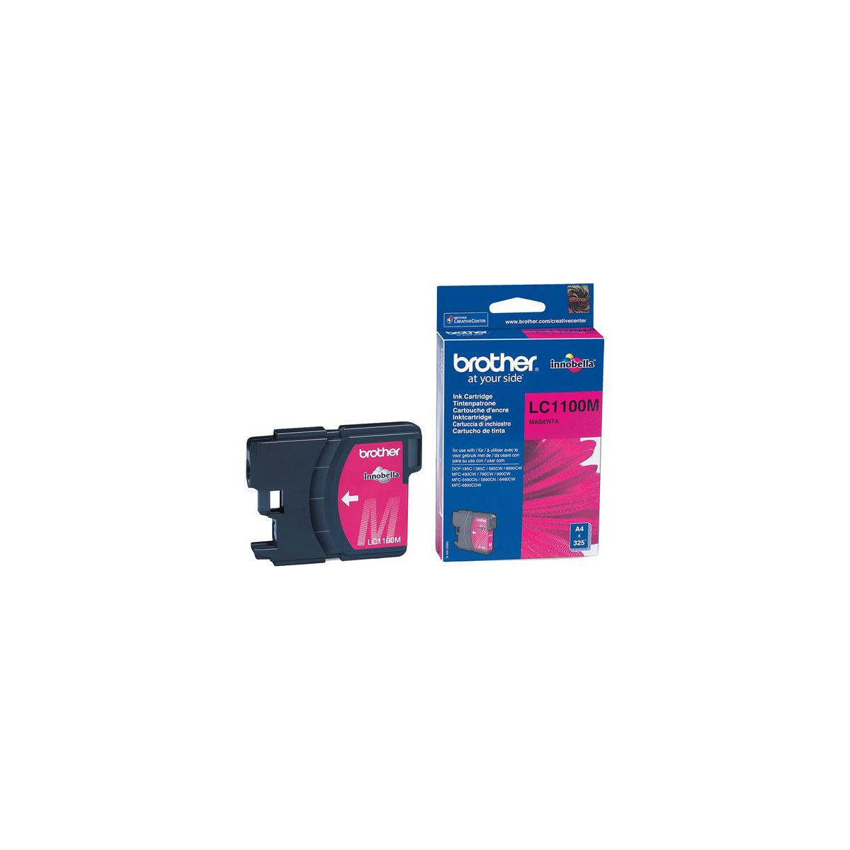 Cartouche brother lc1100 magenta (photo)