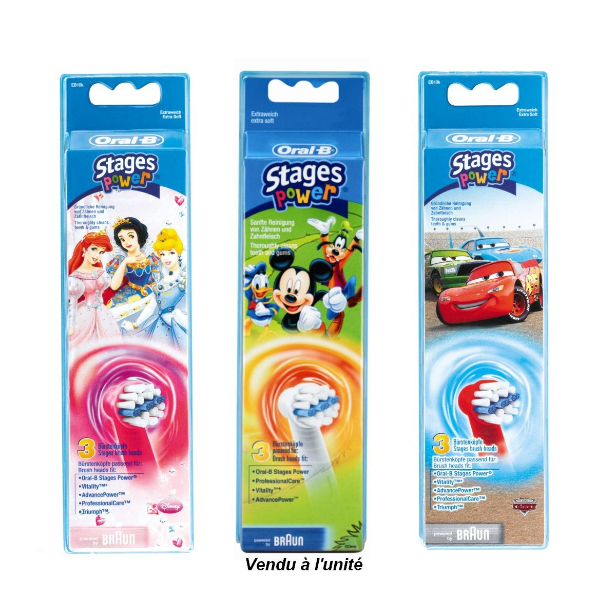 Brossette dentaire oral-b eb10 kids x3 (photo)