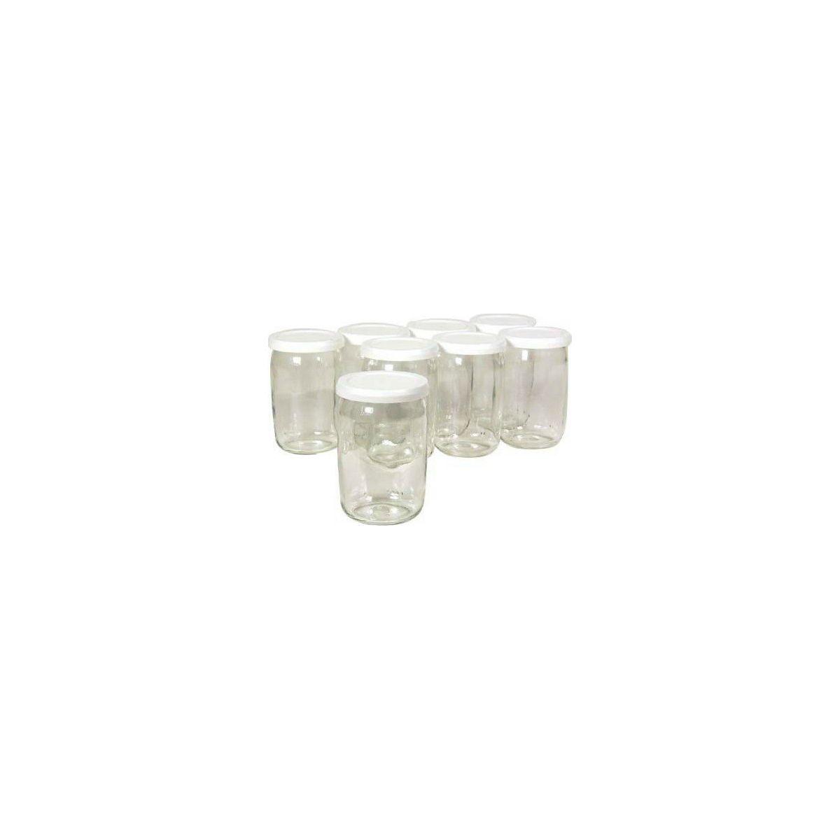 Pots seb 8 pots en verre couvercle farine - 10% de remise immédiate avec le code : cool10 (photo)