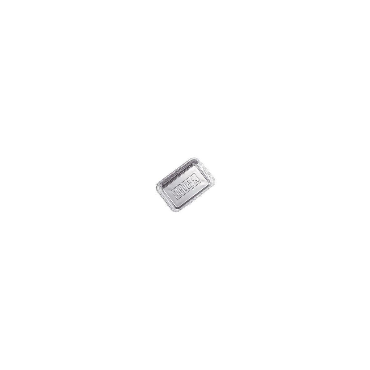 Plat weber petites barquettes aluminium - lot de 10