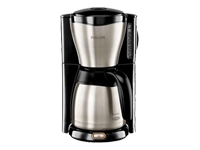 Cafeti�re isotherme philips hd 7546/20 noir / inox (photo)
