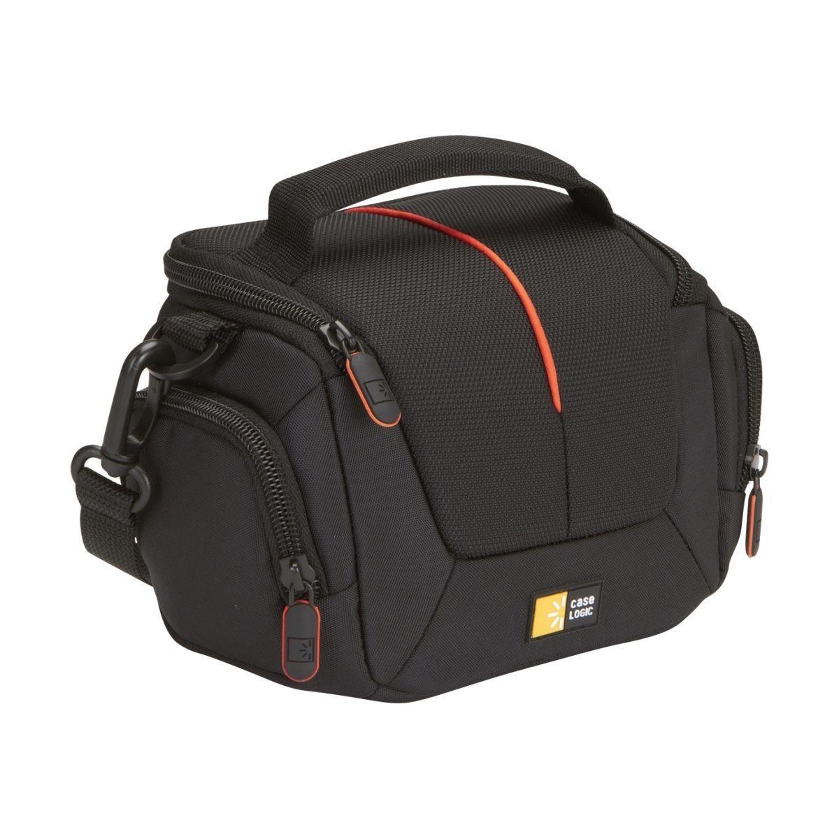 Housse caselogic nylon noir dcb305k pour camescope - livraison offerte : code liv (photo)