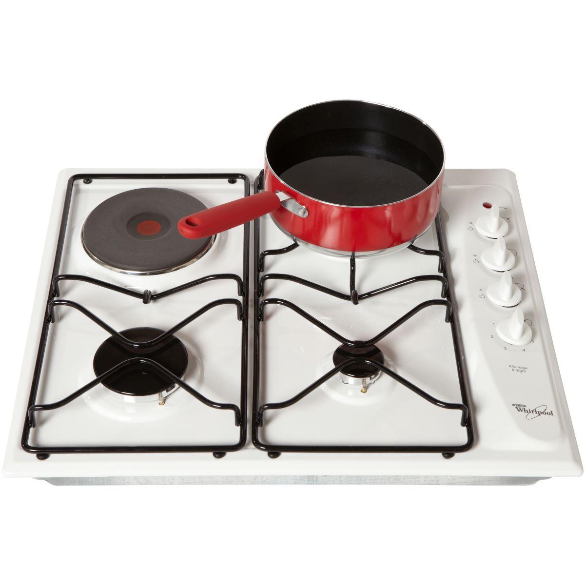 Table de cuisson mixte whirlpool akm261wh - 7% de remise : code gam7