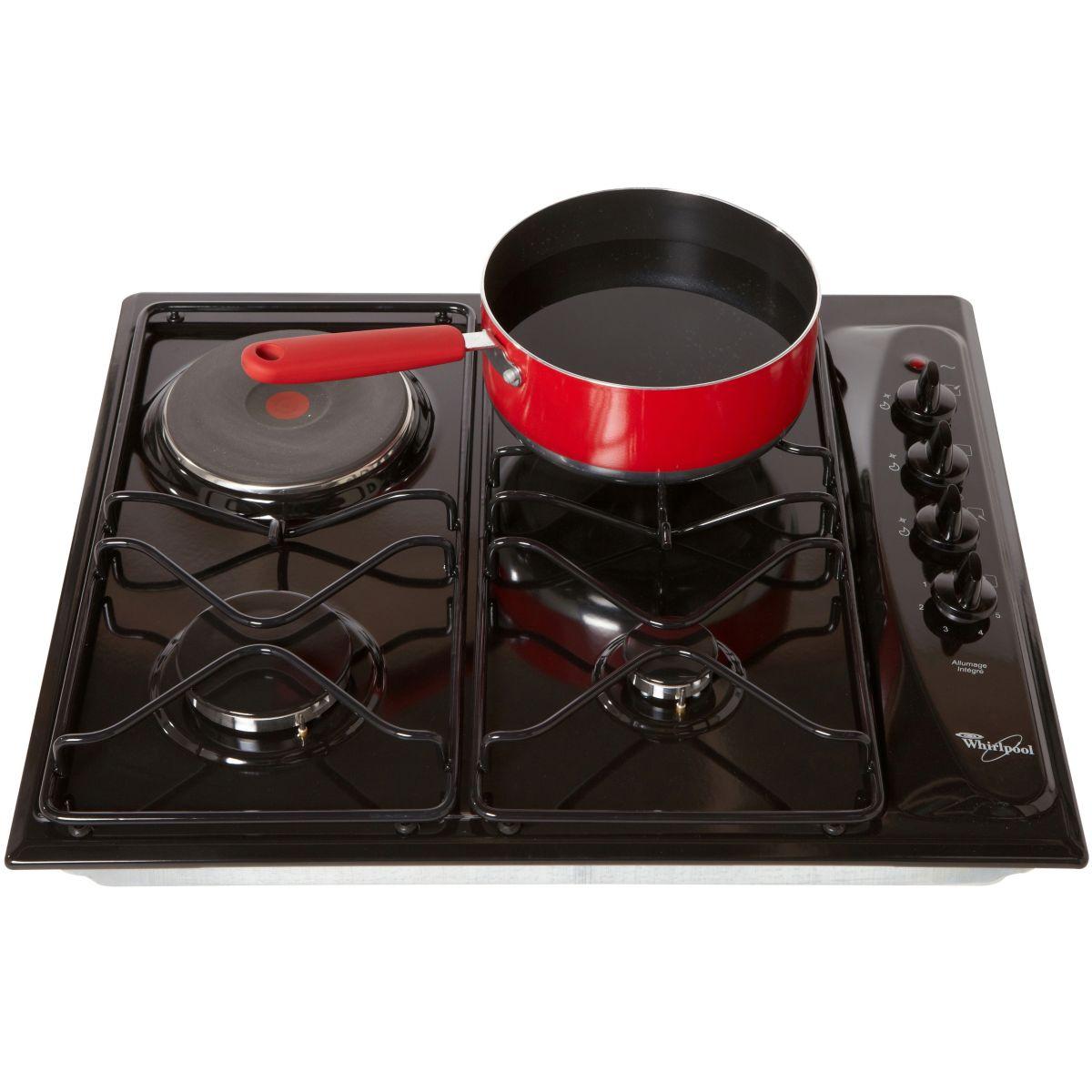 Table de cuisson mixte whirlpool akm261nb - 7% de remise : code gam7