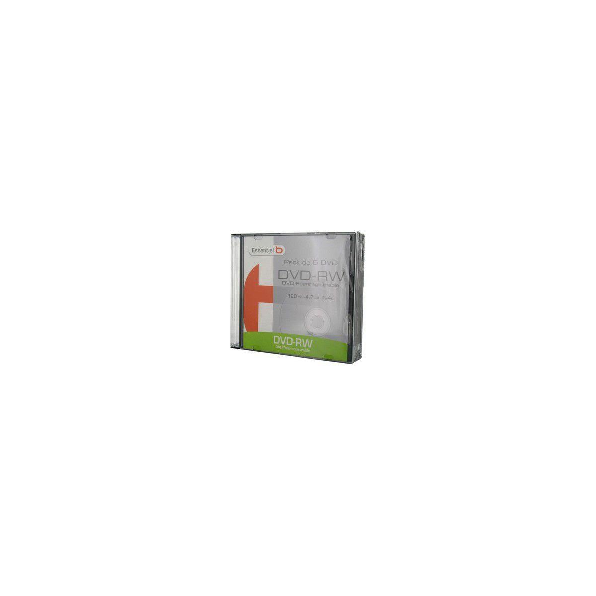 Dvd sc p5 dvd-rw 16x slim - produit coup de coeur webdistrib.com !