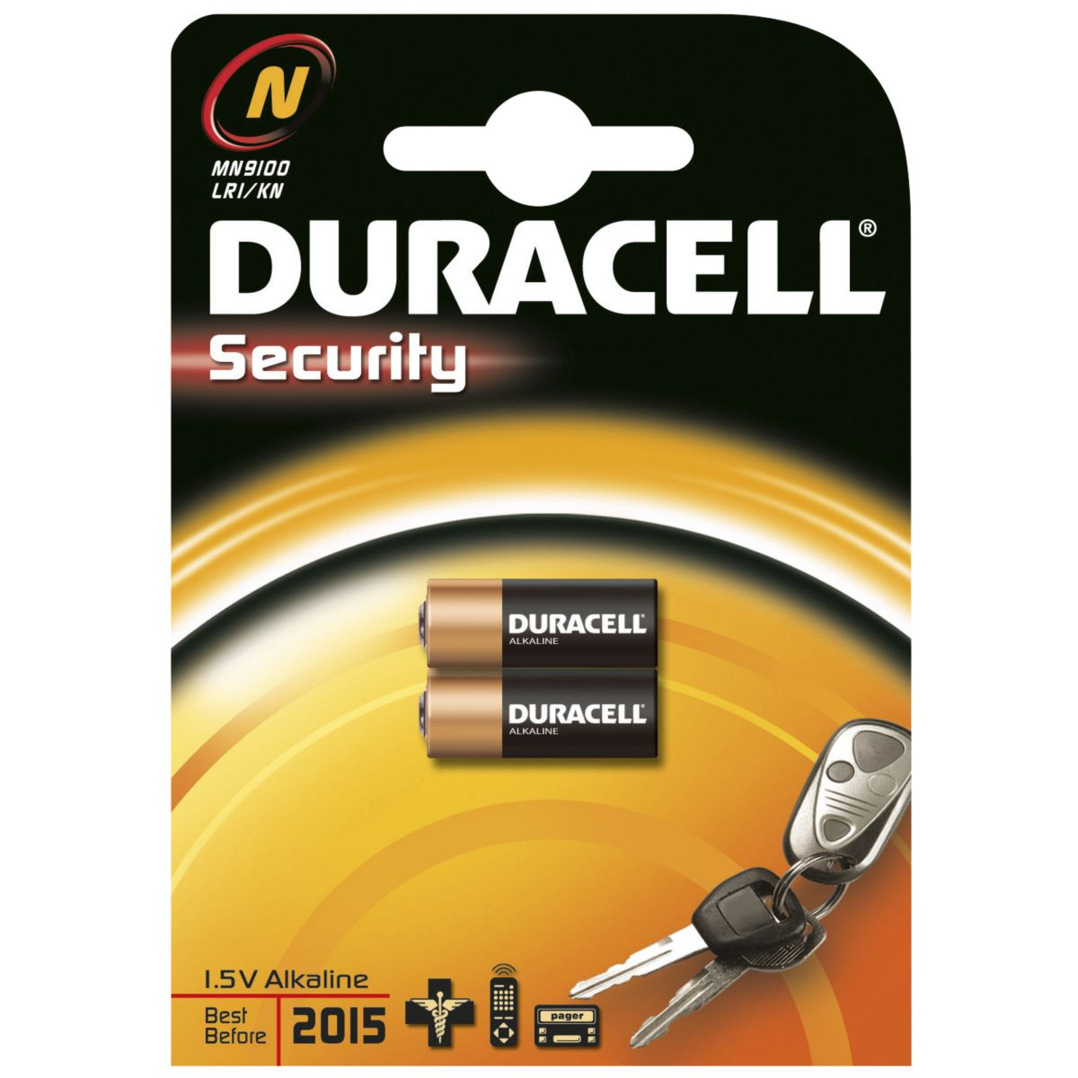 Pile non rechargeable duracell n - e90 x2 (photo)