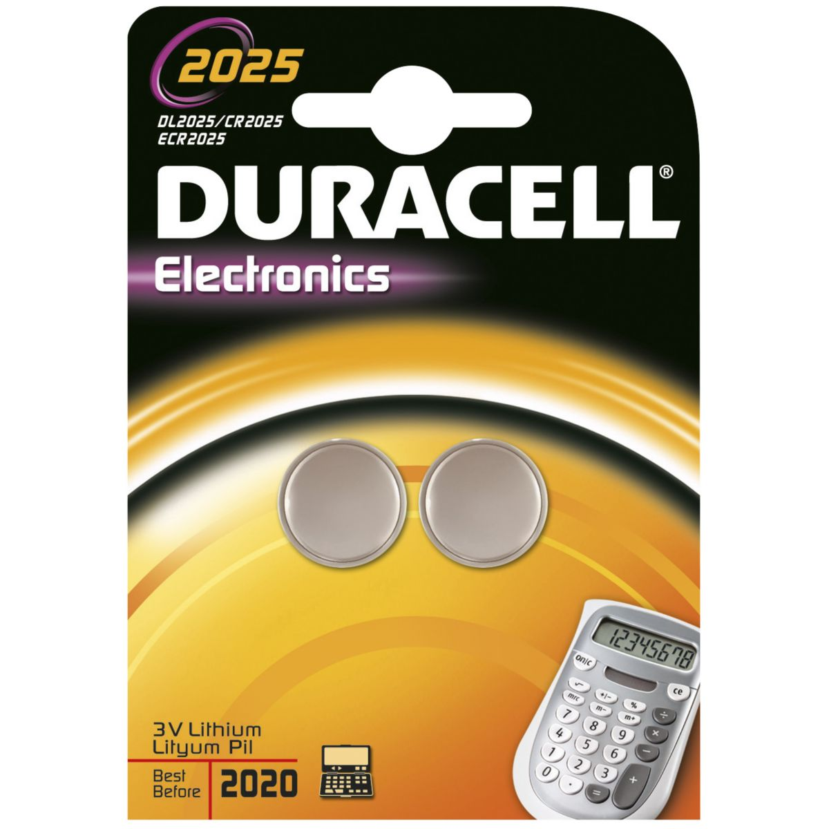 Pile non rechargeable duracell lithium spe 2025 (photo)