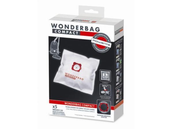 Sac aspirateur rowenta wonderbag compact (x5) - 5% de remise : code access5