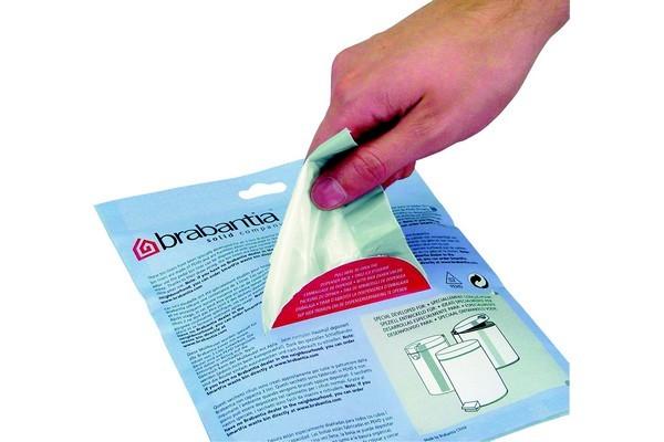 Distributeur brabantia sacs poubelle 3l(60sacs/distributeur) - 5% de remise imm�diate avec le code : deal5 (photo)