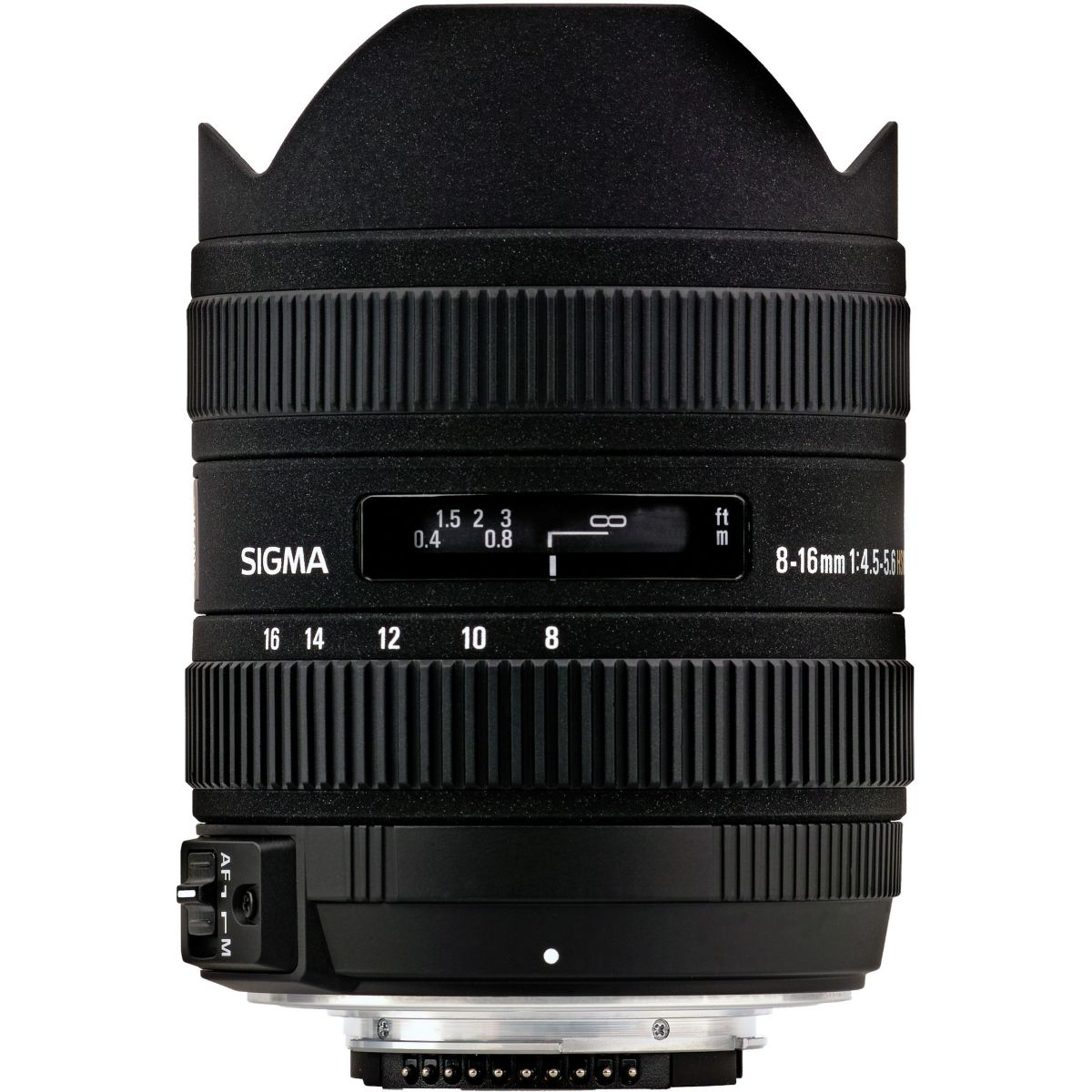 Objectif sigma 8-16mm f4,5-5,6 dc hsm (pour reflex canon) - livraison offerte : code livpremium