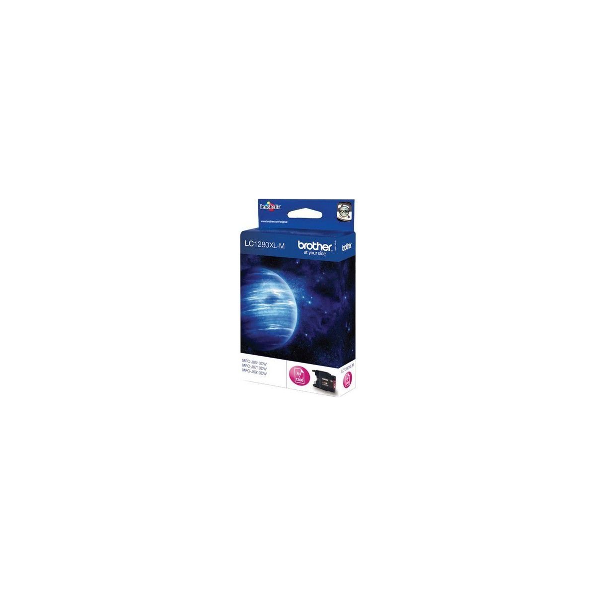 Cartouche brother lc1280xl magenta (photo)