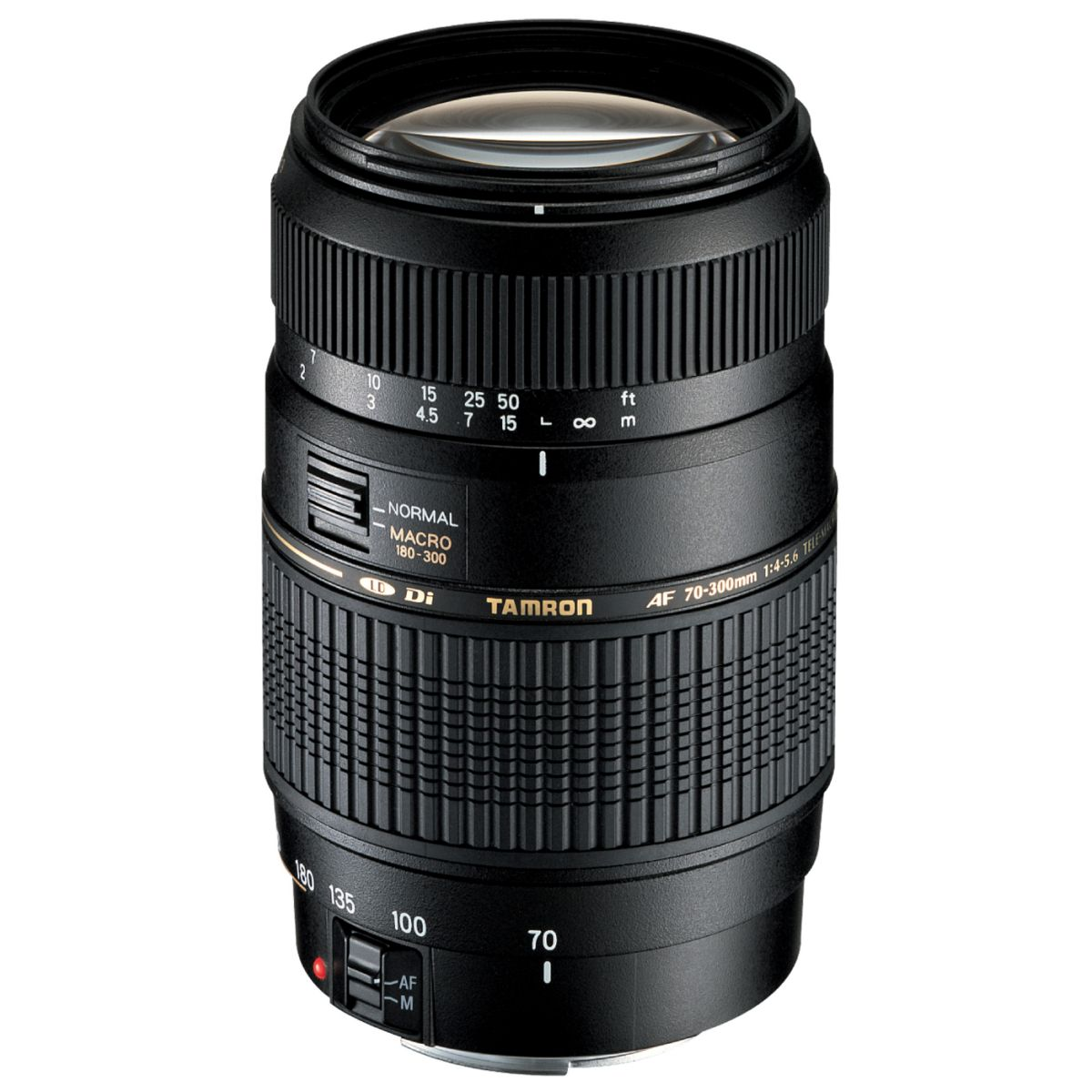 Objectif pour reflex tamron af 70-300mm f/4-5.6 di ld if 1:2 canon