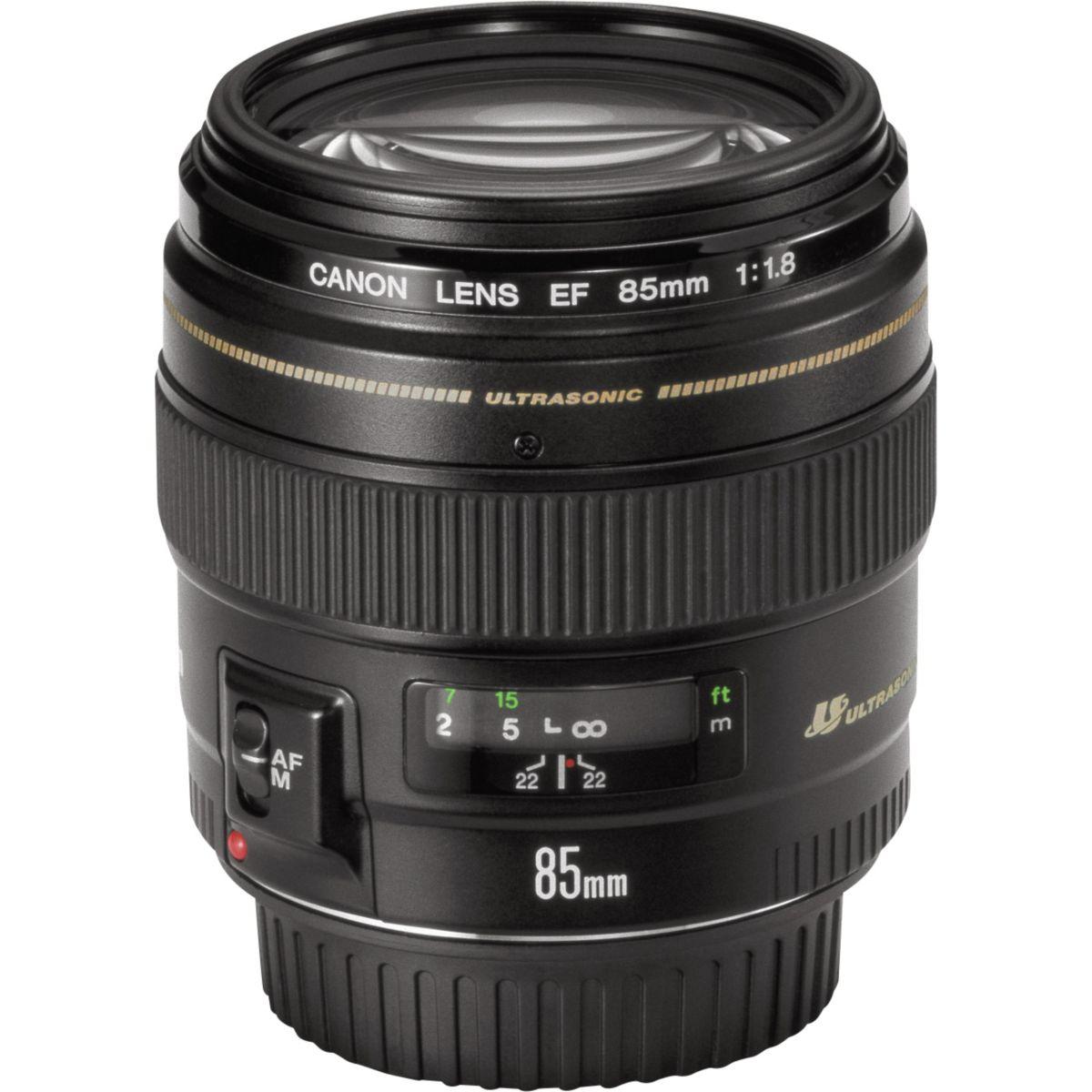 Objectif canon 85mm f/1.8 usm (pour reflex canon)