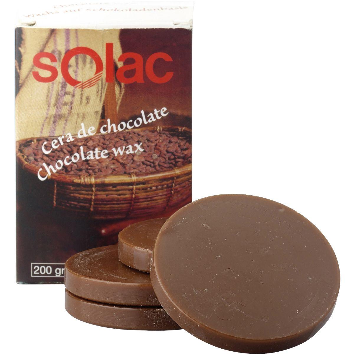 Cire solac chocolat x10 capsules - 7% de remise imm�diate avec le code : automne7 (photo)