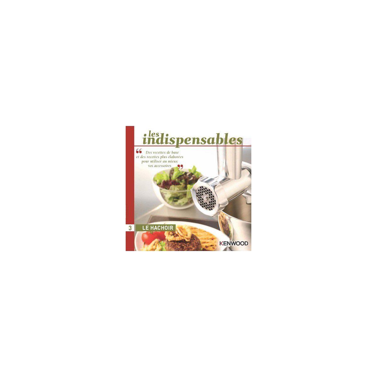 Livre de cuisine kenwood le hachoir - 10% de remise imm�diate avec le code : deal10 (photo)