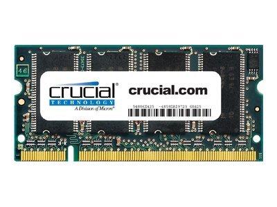 Mémoire crucial mémoire - 1 go - so dimm 200 broches - ddr