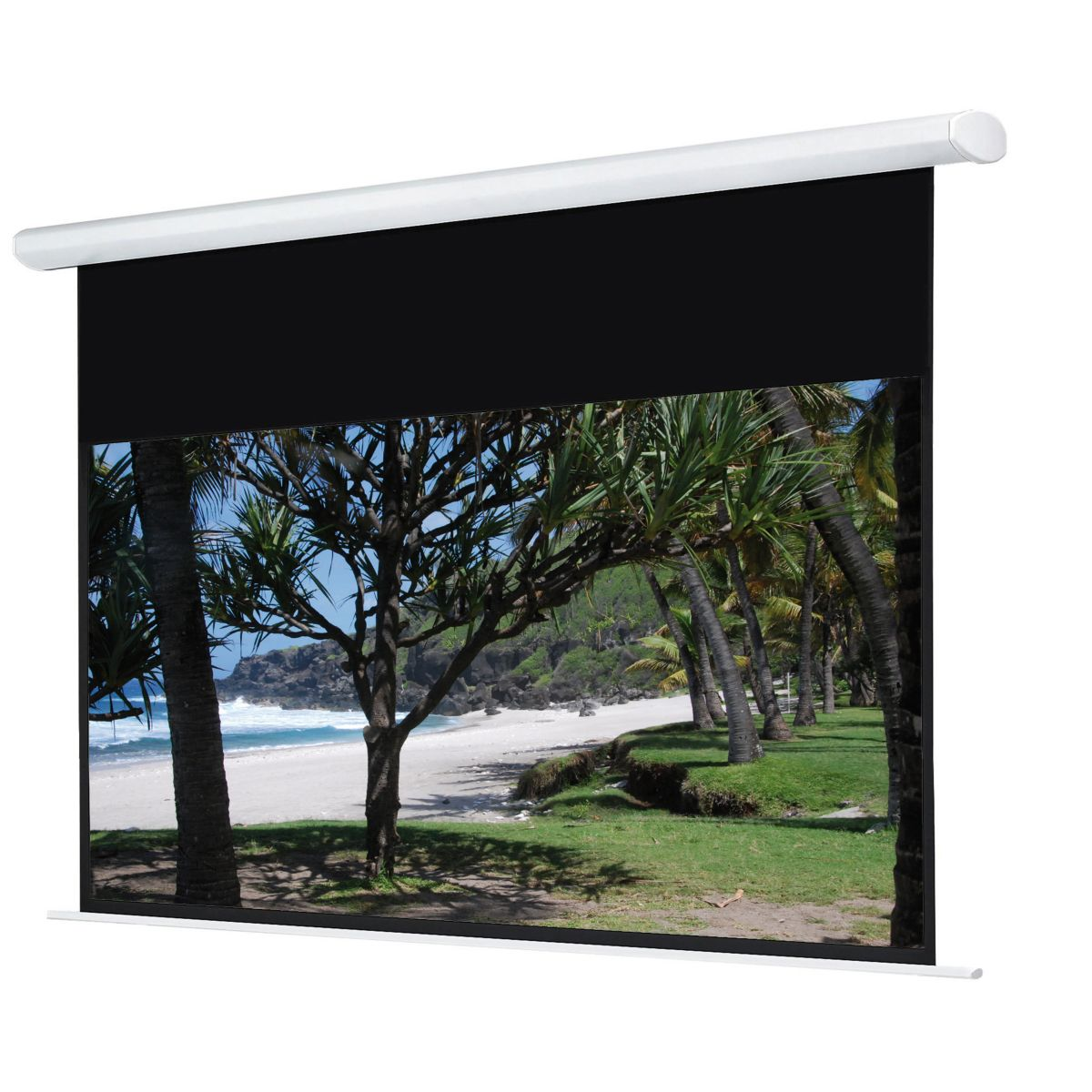 Ecran de projection oray hcm4rb1 112*200 motoris� 16:9 - 15% de remise imm�diate avec le code : deal15 (photo)