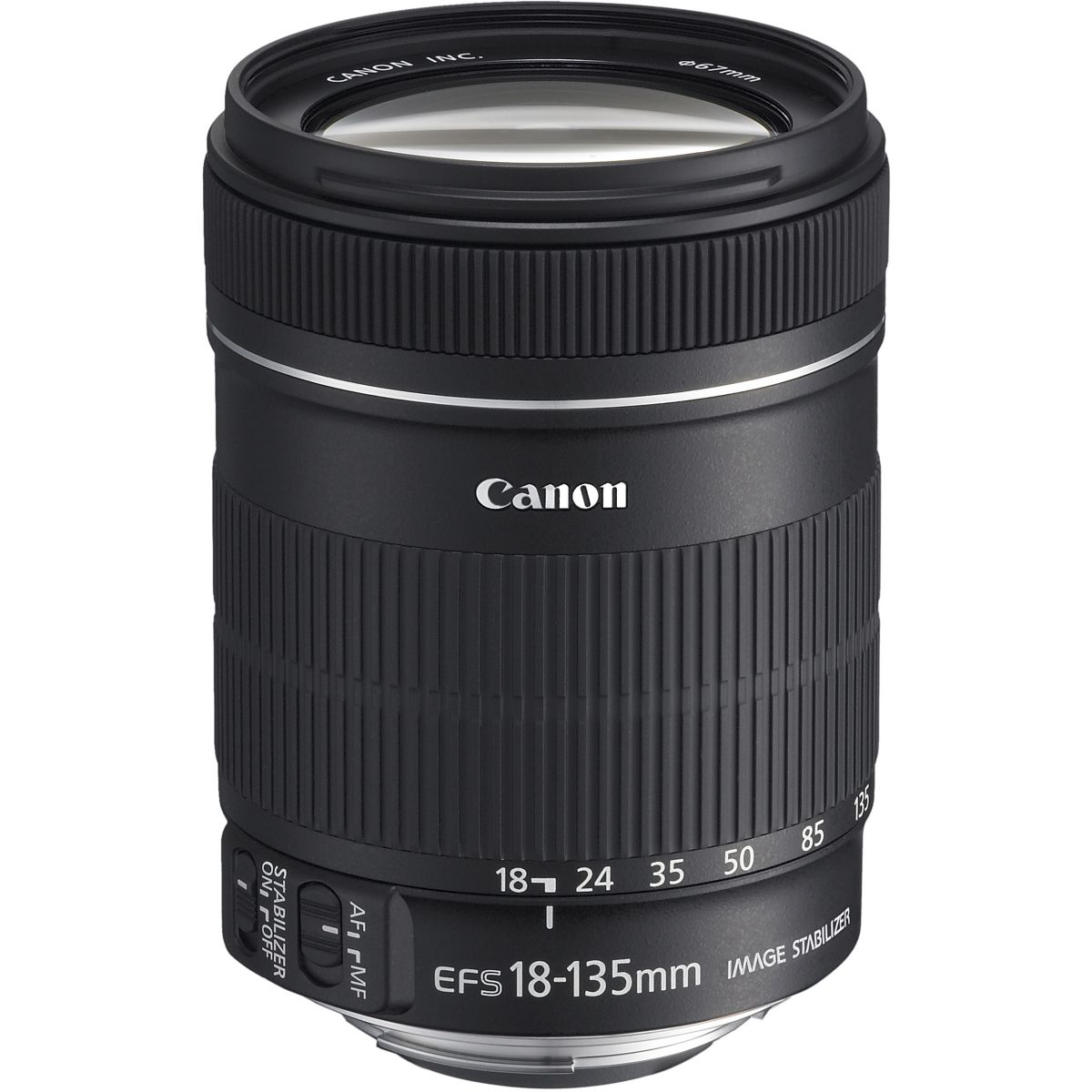 Objectif canon ef-s 18-135mm f/3,5-5,6 is - livraison offerte : code liv