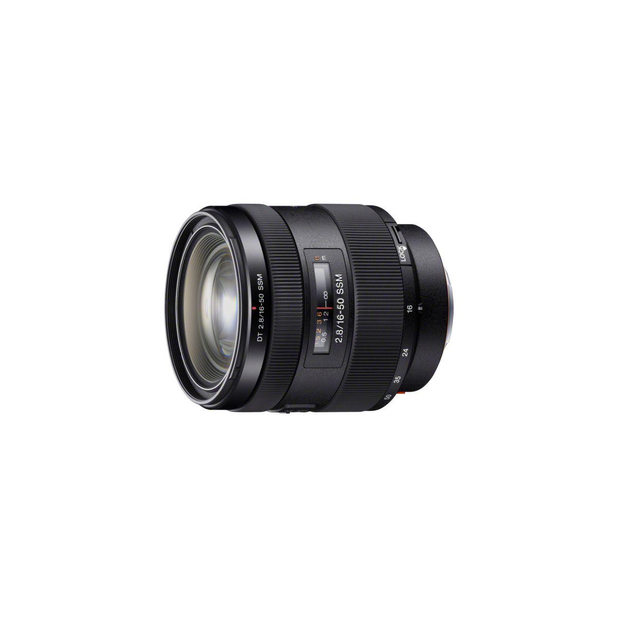 Objectif pour reflex sony sal 16-50mm f/2,8 dt - 2% de remise imm�diate avec le code : deal2