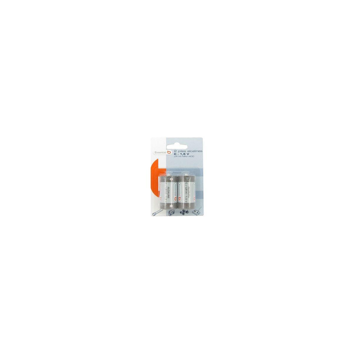 Pile non rechargeable essentielb c (lr14) x 2 (photo)