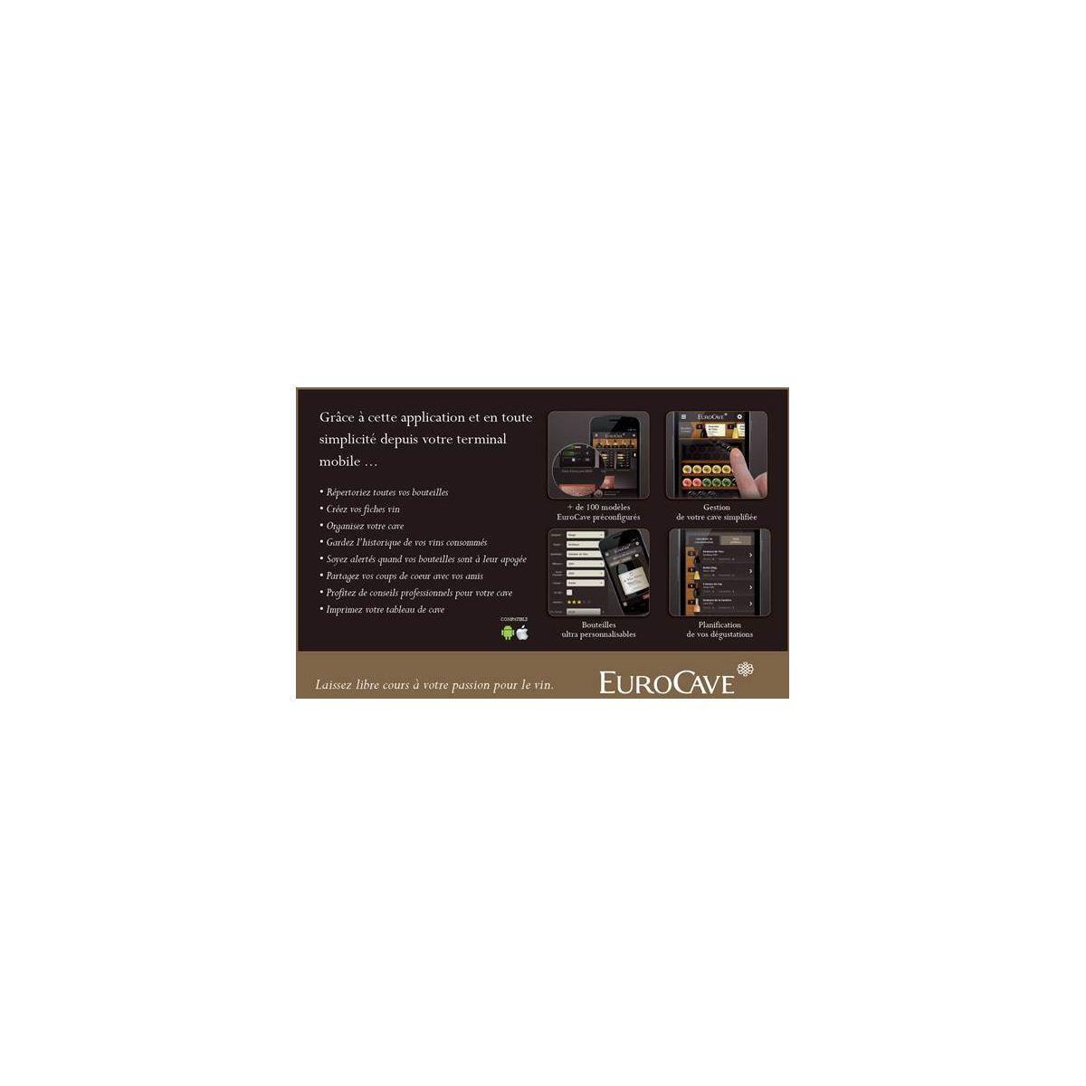 Cave de vieillissement artevino oxygen oxg1t230npd - livraison offerte : code livp (photo)