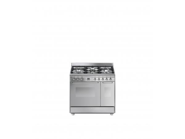 Piano de cuisson gaz smeg cg92x9 - 2% de remise imm�diate avec le code : gam2 (photo)