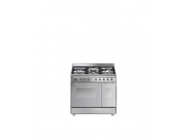Piano de cuisson gaz smeg cg92px9 (photo)