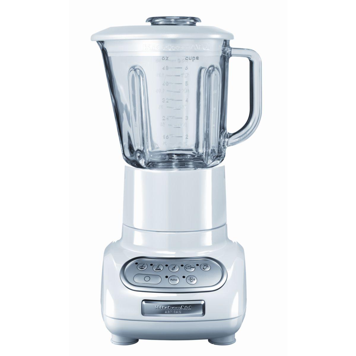 Blender kitchenaid artisan® 5ksb5553 ewh blanc - produit coup de coeur webdistrib.com !