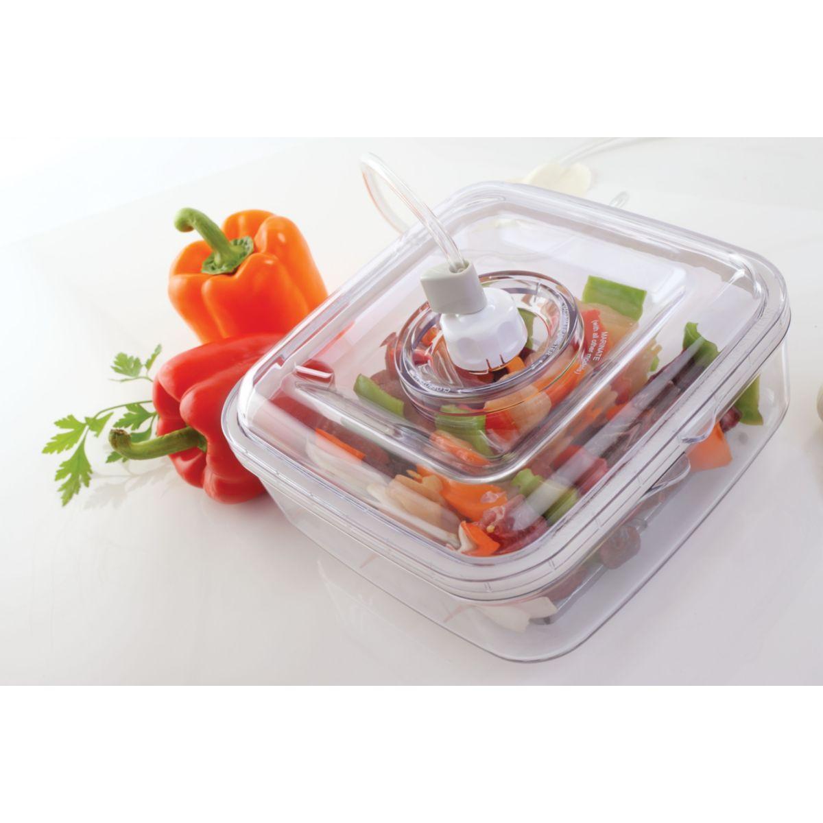 Boîte food saver 2.13l pour mise sous vi - 20% de remise immédiate avec le code : cool20 (photo)