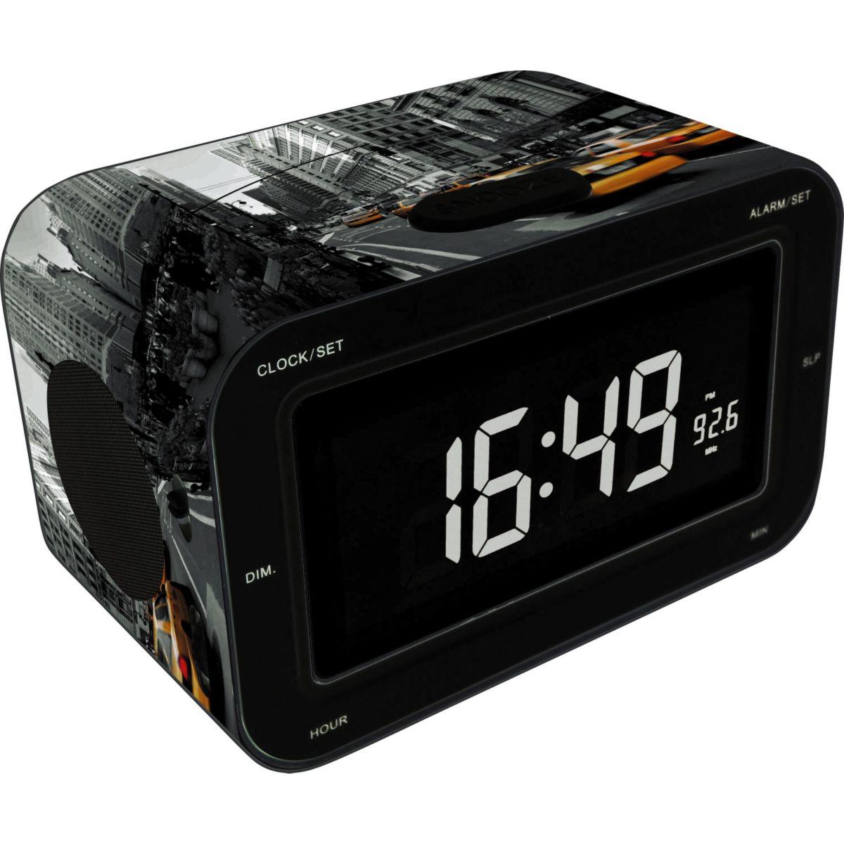 Radio-réveil bigben rr30ny2 - 10% de remise immédiate avec le code : multi10 (photo)