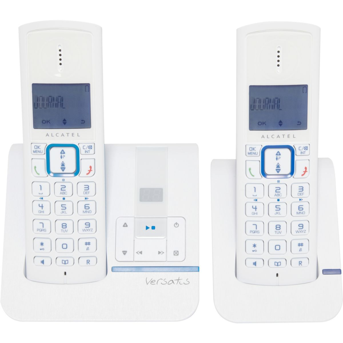 Téléphone répondeur sans fil duo alcatel f230 voice bleu - 3% de remise immédiate avec le code : multi3 (photo)
