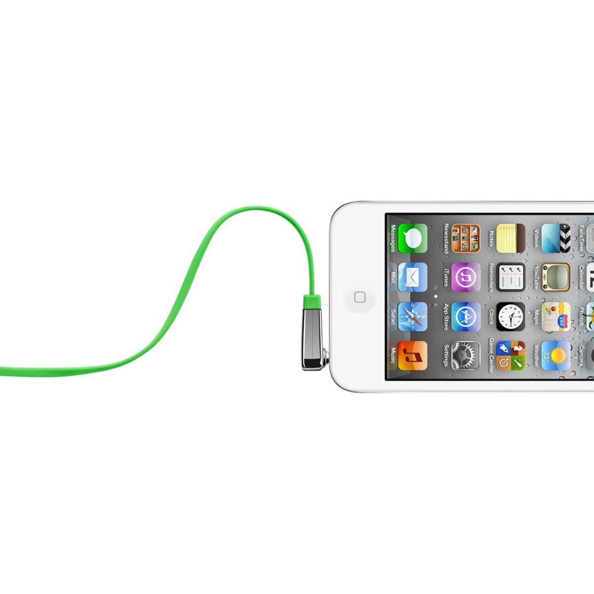 Connectique belkin câble plat coudé vert - 10% de remise immédiate avec le code : cool10 (photo)