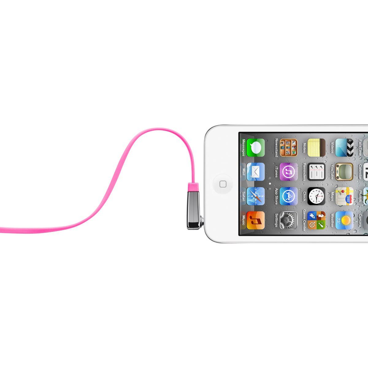 Connectique belkin câble plat coudé rose - 10% de remise immédiate avec le code : cool10 (photo)