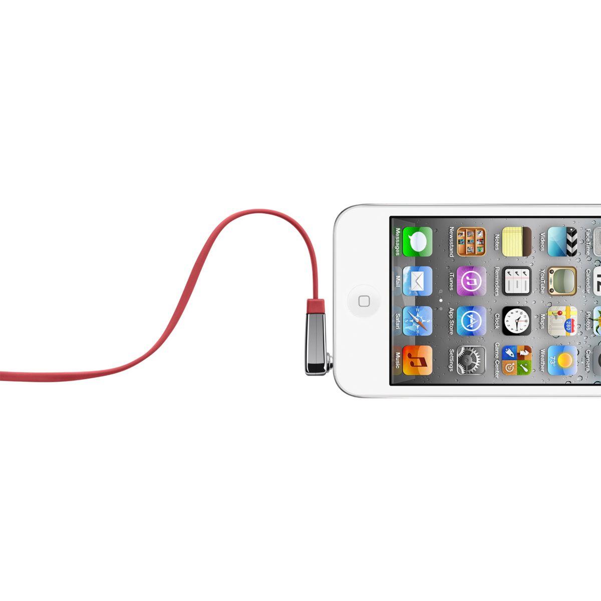 Connectique belkin câble plat coudé rouge - 10% de remise immédiate avec le code : cool10 (photo)
