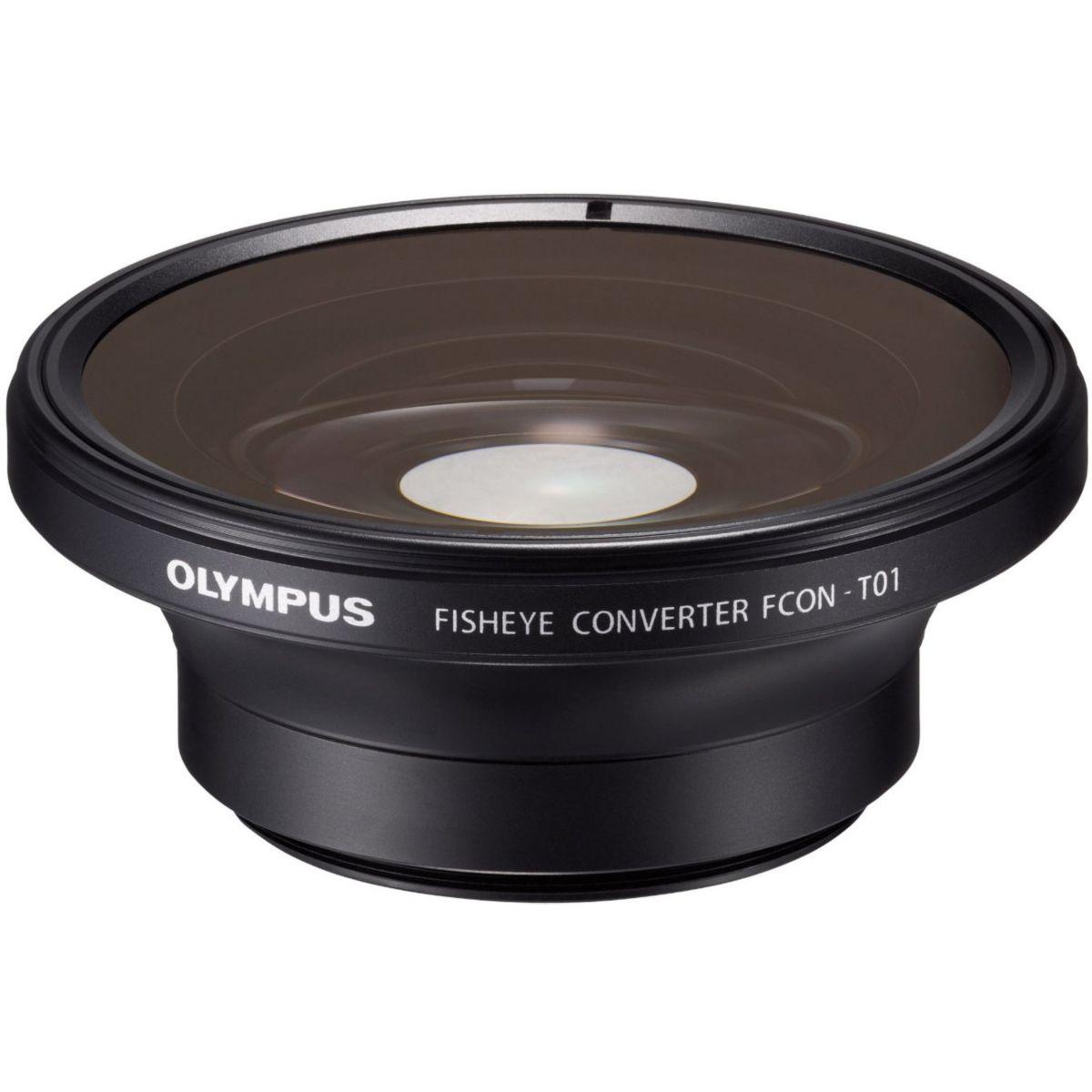 Objectif olympus convertisseur fisheye fcon-p01 pour tg-1, 2, 3, 4