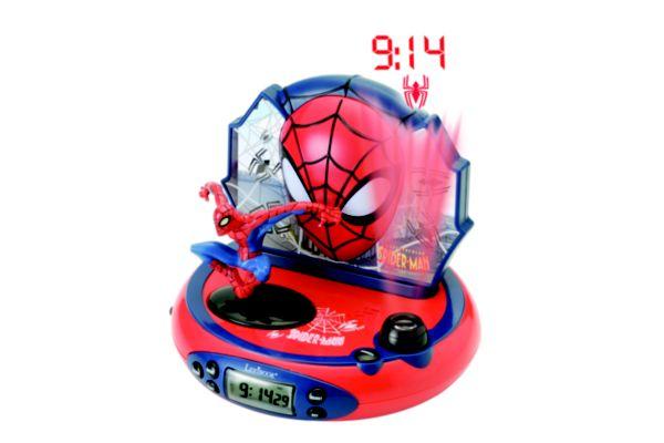Radio r�veil lexibook projecteur spider-man - 2% de remise imm�diate avec le code : school2 (photo)