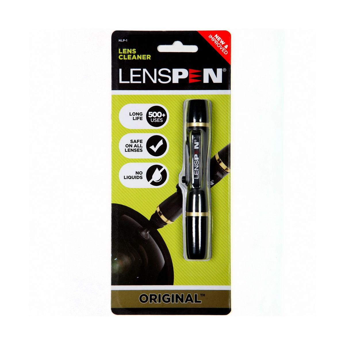 Nettoyage optique lenspen original - nettoyeur carbone 14mm