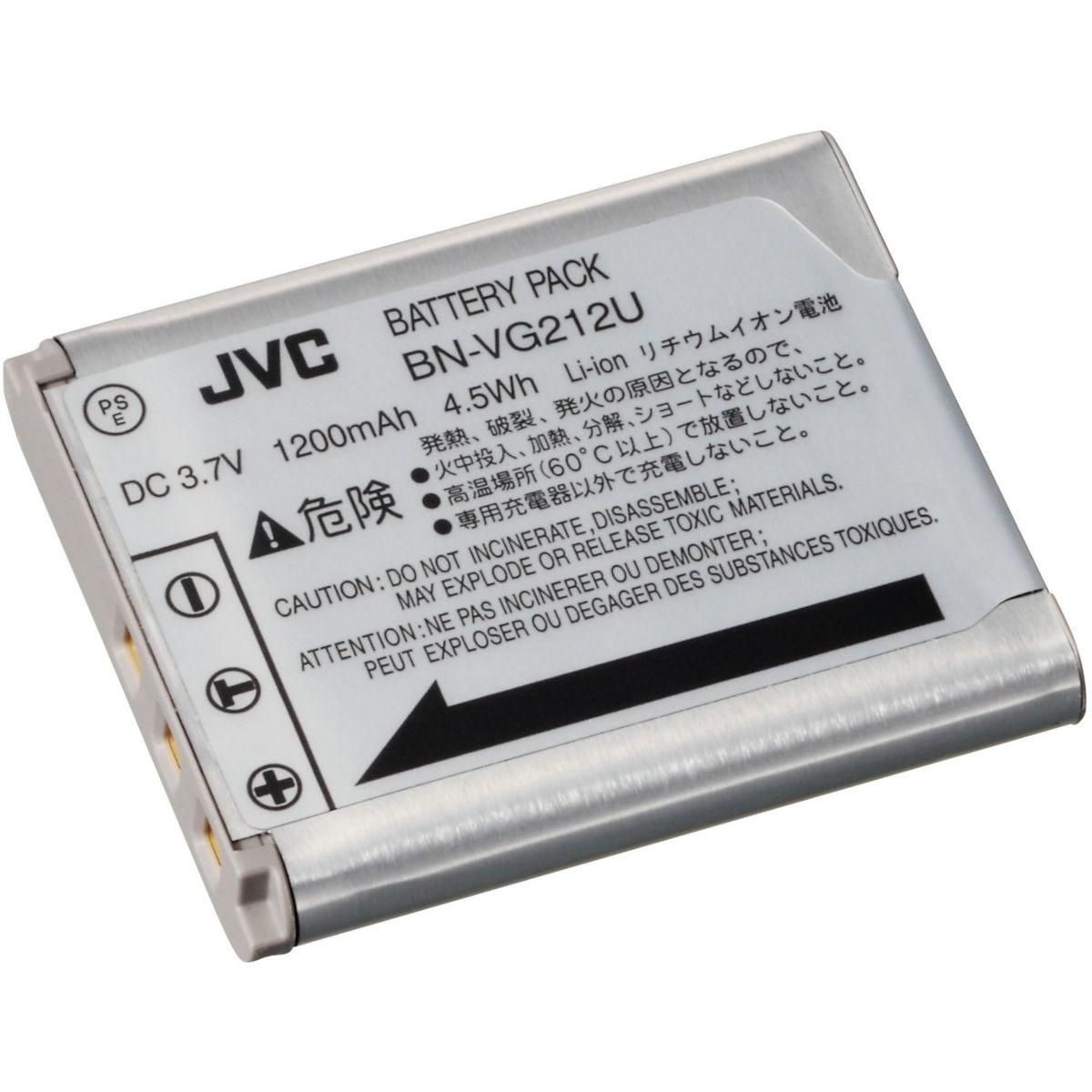 Batterie jvc bn-vg212eu - livraison offerte : code liv (photo)