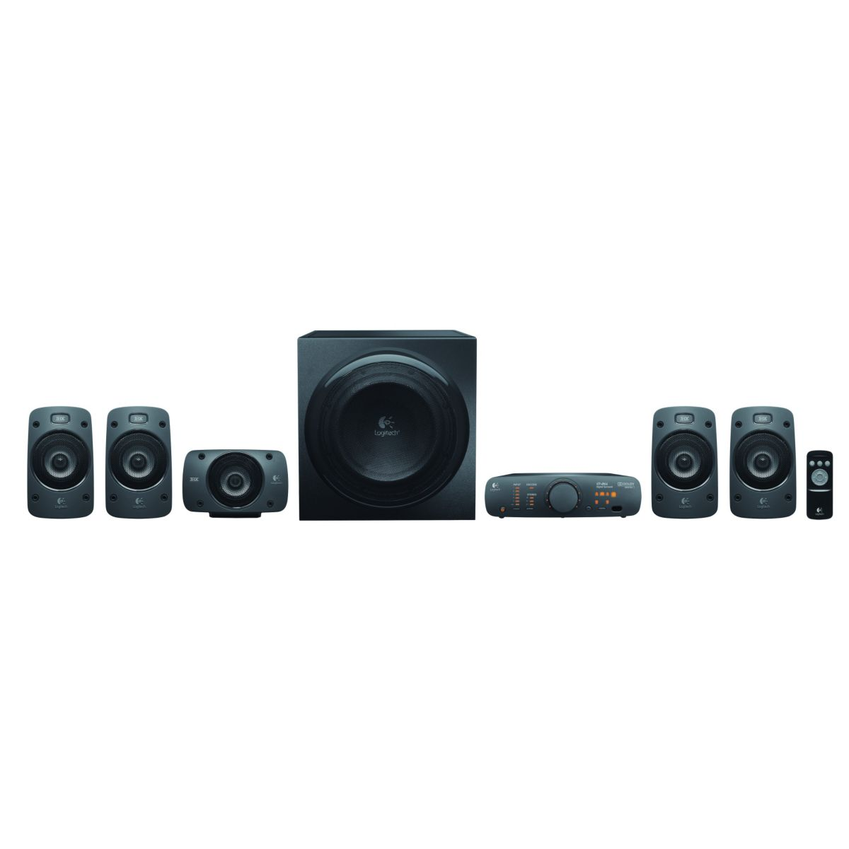 Enceinte pc logitech z906 5.1 thx surround - 2% de remise imm?...